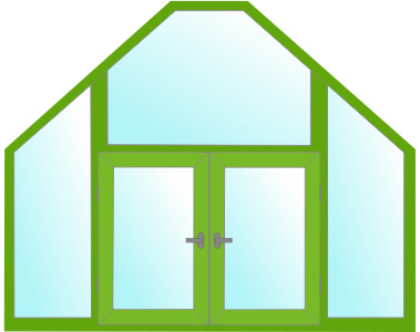 Фигурные формы окон - круглые окна, треугольные, окна домик
