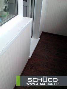 Отделка балкона и лоджии